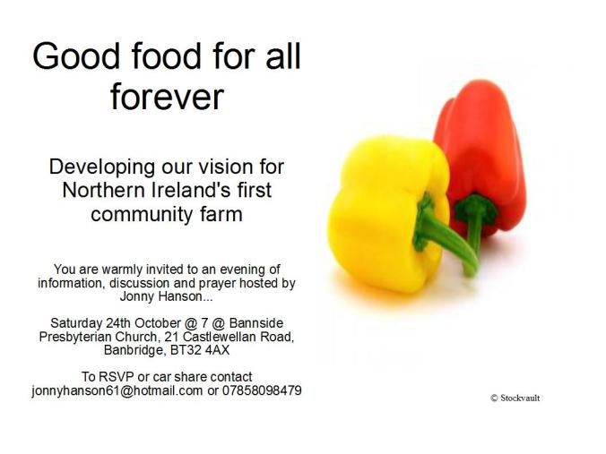 Good food for all forever_invite